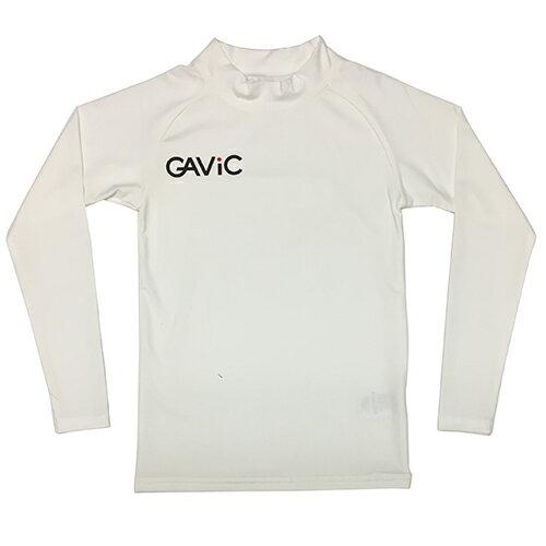 ガビック GAViC サッカー フットサル ストレッチインナートップ ロング ジュニア ホワイト GA8801 WHT