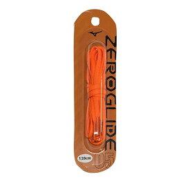 ミズノ MIZUNO ゼログライドシューレース オレンジ サッカー フットサル 靴ひも シューレース 平型 4mm P1GZ2021 05