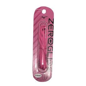 ミズノ MIZUNO ゼログライドシューレース ピンク サッカー フットサル 靴ひも シューレース 平型 4mm P1GZ2021 06