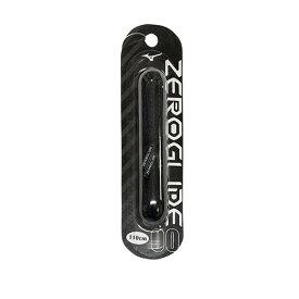 ミズノ MIZUNO ゼログライドシューレース ブラック サッカー フットサル 靴ひも シューレース 平型 4mm P1GZ2021 00