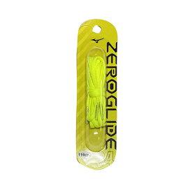 ミズノ MIZUNO ゼログライドシューレース イエロー サッカー フットサル 靴ひも シューレース 平型 4mm P1GZ2021 04