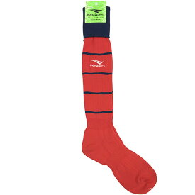 ペナルティ オーダーカラーストッキング レッド×ネイビー サッカー フットサル ストッキング 靴下 ST-G PS901 PS900 REDNVY