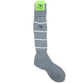 ペナルティ オーダーカラーストッキング グレー×ホワイト×ネイビー サッカー フットサル ストッキング 靴下 ST-G  PS901 PS900 GRYWNV