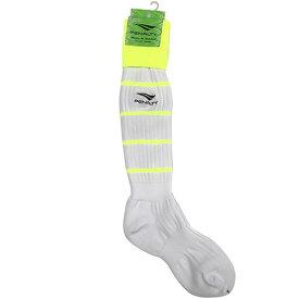 ペナルティ オーダーカラーストッキング ホワイト×Fイエロー サッカー フットサル ストッキング 靴下 ST-G PS902 PS901 WHTFYEL