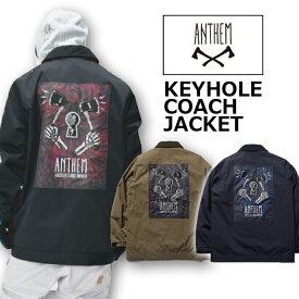 18-19 ANTHEM アンセム KEYHOLE COACH JACKET AN1804 キーホールコーチジャケット 送料無料 即出荷
