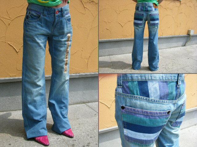 09 ELEMENT spring&summer Womens Denim Pants BLC【26】9023-701
