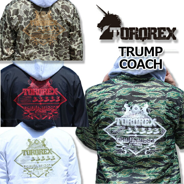 17-18 TORQREX TRUMP COACH JACKET トルクレックス コーチジャケット