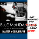 BLUE MONDAY / MASTER OF GROUND #9 ブルーマンデイ TRUST 6 MEDIA トラストシックスメディア 16-17 SNOWB...