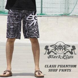BLACKFLYS ブラックフライ CLASH PHANTOM SURF PANTS クラッシュファントムサーフパンツ BLACK 50%OFF