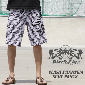b4a2c3cabd2 BLACKFLYS ブラックフライ CLASH PHANTOM SURF PANTS クラッシュファントムサーフパンツ WHITE 50%OFF
