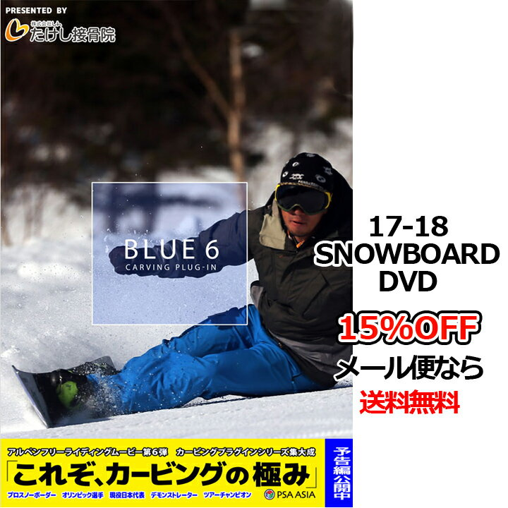 BLUE6 carving plug-in ブルーシックス カービングプラグイン second production セカンドプロダクション 17-18 SNOWBOARD DVD