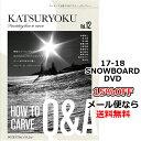 滑力12 / カービングQ&A カツリョク12 POTENTIAL FILM ポテンシャルフィルム 17-18 新作 SNOWBOARD DVD