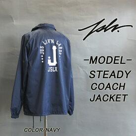 JSLV ジャスリブ STEADY COACH JAKET コーチジャケット 20%OFF