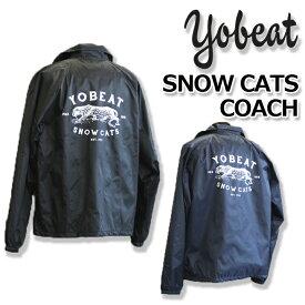 YOBEAT ヨビート SNOW CATS COACHES JAKET コーチジャケット 20%OFF