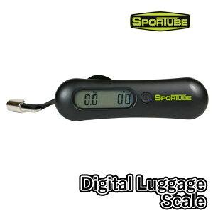 SPORTUBE スポ?チューブ Digital Luggage Scale 釣り竿 ロッドケース フィッシング マリンスポーツ ウィンタースポーツ トラベルケース