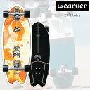 CARVER カーバー SKATEBOARD スケートボード SURFSKATE サーフスケート Hydra ハイドラ 29インチ コンプリート CX4ト…
