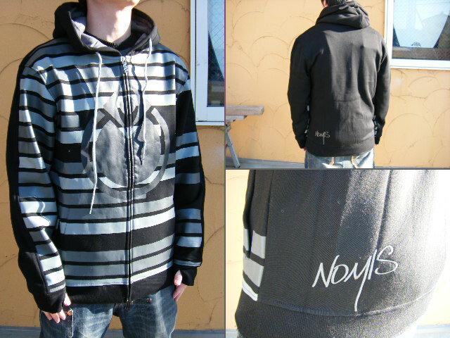 ≪1万円以上で送料無料≫09NOMIS HOLIDAY Premium collection Tron Hood Black【M】
