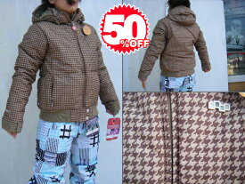 09FOURSQUARE OUTERWEAR CANDICE JACKET(WOMENS DOWN SERIES) TanBig 【S/M】【smtb-f】
