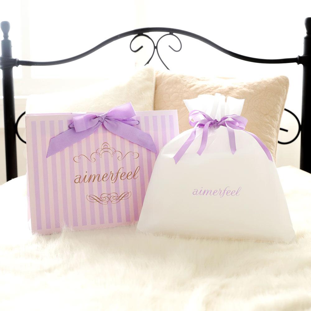 ラッピング Bag(下着 aimerfeel エメフィール ラッピング 袋 かわいいラッピング クリスマス プレゼント 女性 Xmas ギフト包装 下着 レディース ブラジャー ランジェリー)