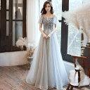 パーティードレス ロング 大きいサイズ 結婚式 ワンピース イブニングドレス ロング丈 パーティー 成人式 忘年会 結婚…