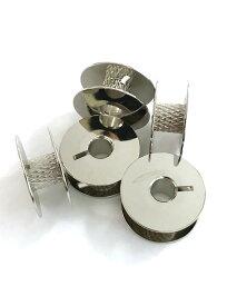 工業用・職業用 ボビン カット入 芯部ギザ有り 糸が滑りづらい 高速回転ミシン対応9.0mm厚/直径21.0mm