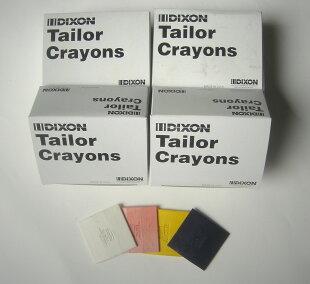 ディクソンチョークDIXONCHALK白・赤・黄(合計3色)24枚入/箱