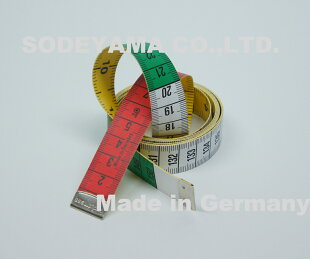 ドイツ製ヘキストマスhoechstmassレインボーメジャー150cm/60inchcm/inch