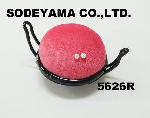 アームピンクッション60mm半円形日本製ピンク