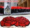 玫瑰地毯墊玫瑰華麗溫暖的心,VIP 地毯玫瑰蓬鬆墊的出現大約 70 × 140 釐米存在非常光滑質地絲滑作為墊門墊客廳臥室孩子明亮馬特口音的地毯地毯清理
