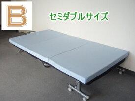 セミダブルがこのお値段!ベストバランス(セミダブルサイズ):【体重別(普通タイプ)Type-B純日本製100% FISLAND 低反発マットレス