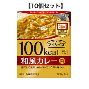 マイサイズ 和風カレー 100g 【10個セット】 大塚食品 【RH】【店頭受取対応商品】