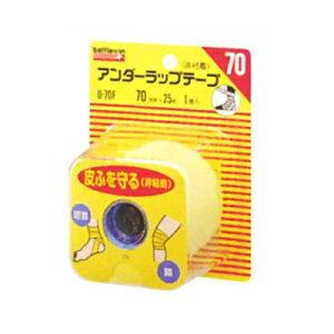 バトルウィン アンダーラップテープ 70mm×25m(1ロール) U70F ニチバン【RH】