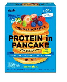 スリムアップスリム シェイププロテインインパンケーキ 50gX6袋 アサヒ【RH】