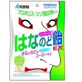 シュガーレスはなのど飴EX アップル風味 70g 栄養機能食品(ビタミンC) 浅田飴【RH】
