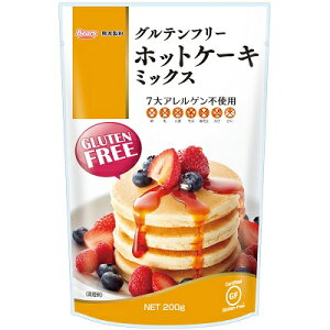 【セール特価】グルテンフリー ホットケーキミックス 200g 熊本製粉/Gluten free【MI】【店頭受取対応商品】