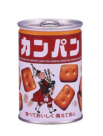 【bousai−anzen】非常食 缶入り乾パン 100g 24缶/箱 三立製菓【bousai−anzen】