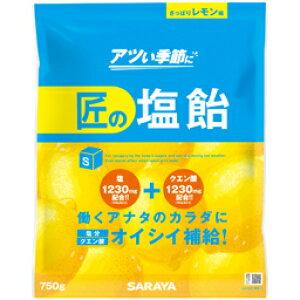 【まとめ買い】匠の塩飴 レモン味 750g 10袋/箱 【送料無料】【代引不可】熱中症対策