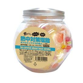 【送料無料】熱中対策塩飴ボトルミックス 100g 10ボトル/箱【ケース買い】熱中症対策