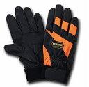 合成皮革手袋 PU-625 オレンジ LLサイズ 消防訓練用手袋 消防作業手袋 富士グローブ
