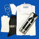 【3営業日以内発送】お手ごろ価格ウィングカラーシャツと小物6点セット