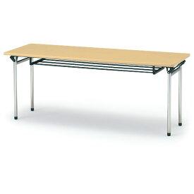 折りたたみ テーブル イトーキ ITOKI TTF(棚付)180×60【自社便/開梱・設置付】