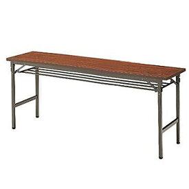 折りたたみテーブル イトーキ ITOKI TBE 棚付 180×60【自社便 開梱・設置付】