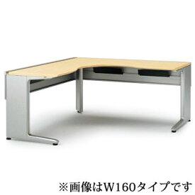 オフィスデスク イトーキ ITOKI IncLude (インクルード) L型オペレーションデスク(6 6)(単体型)スタンダードタイプW180【自社便/開梱・設置付】