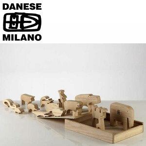 動物パズル 木製 DANESE(ダネーゼ) 16animali(アニマリ) おもちゃ