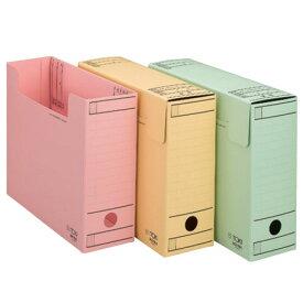 【ファイル用品】イトーキ ワンタッチ組立式ボックスファイル/フタ付【10冊セット】