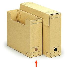 【ファイル用品】イトーキ ワンタッチ組立式ボックスファイル/フタ付/クラフト紙/A4用【10冊セット】