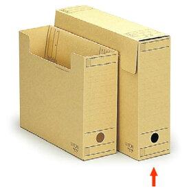 【ファイル用品】イトーキ ワンタッチ組立式ボックスファイル/フタ付/クラフト紙/B4、データ用【10冊セット】