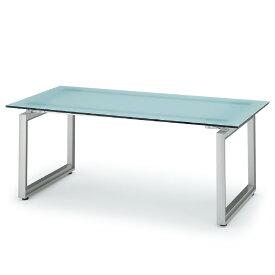ミーティングテーブル 独立単体型 □字脚ガラス天板タイプ イトーキ INFUSE(インフューズ)【自社便/開梱・設置付】
