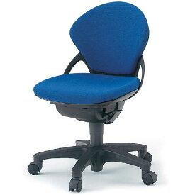 オフィスチェア イトーキ プレーゴチェア ローバック (GA 布張地) 肘なし 樹脂脚