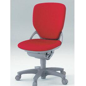 オフィスチェア イトーキ プレーゴチェア ハイバック (GA 布張地) 肘なし 樹脂脚
